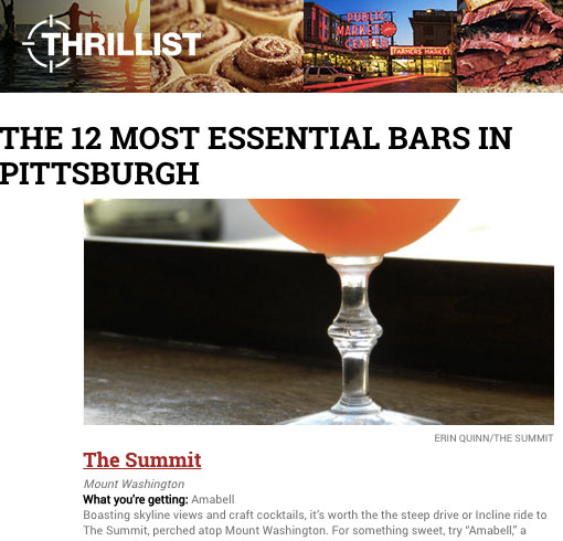 The 12 Most Essential Bars in Pittsburgh